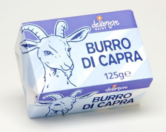 Burro Di Capra 125g