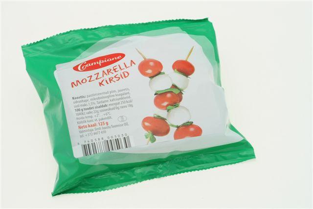 Campione Mozzarella Kirsid 125g