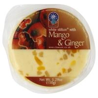 White Stilton with Mango and Ginger 1,25kg ja 150g