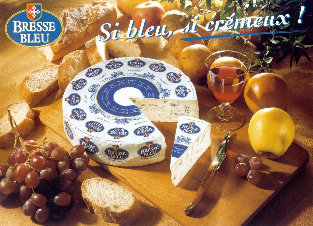 Bresse Bleu +-2,4kg - Prantsuse sini-valgehallitus juust